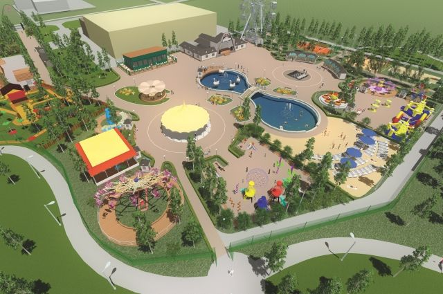 Парк культуры и отдыха в Губахе начнут реконструировать в этом году.