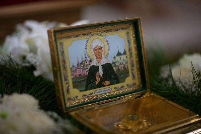 ВУльяновск везут мощи святой Матроны