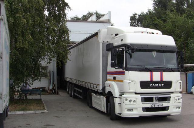 Русский «гумконвой» пересек границу государства Украины, транспортные средства были заполнены на60%,— ГПСУ