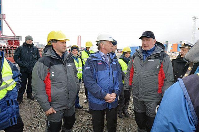 В Сабетте проходит выездное заседание Госкомиссии по развитию Арктики.