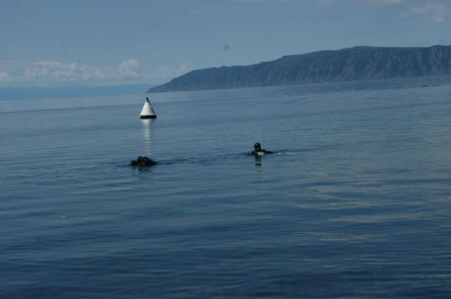 Очистка озера Байкал.