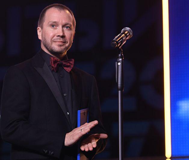 Председатель жюри 28-го Открытого российского кинофестиваля «Кинотавр» Евгений Миронов.