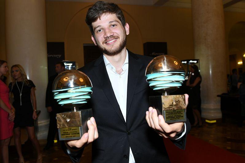 Режиссёр Кантемир Балагов, получивший награду Гильдии киноведов и кинокритиков имени Даниила Дондурея за фильм «Теснота».
