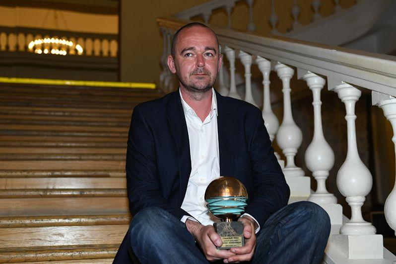 Режиссёр Борис Хлебников, получивший главный приз открытого российского кинофестиваля «Кинотавр» за фильм «Аритмия».
