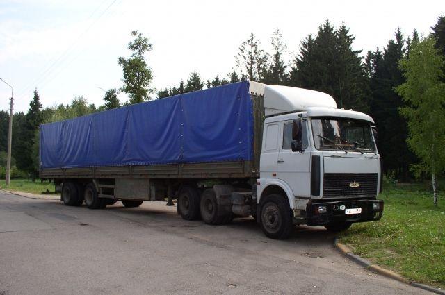 Мужчина управлял грузовым автомобилем МАЗ.