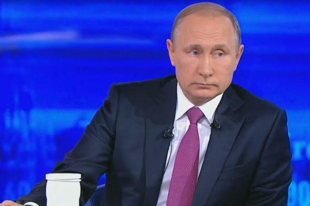 Путин поведал о выгоде санкций: «Нам довелось включить мозги»