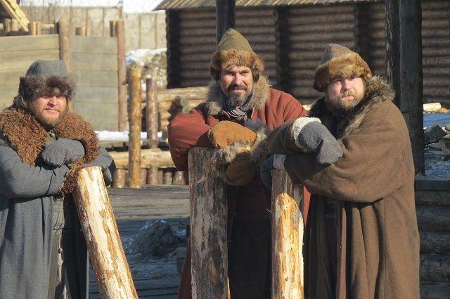 Прибытие китайского каравана в Тобольск снимали для фильма «Тобол»