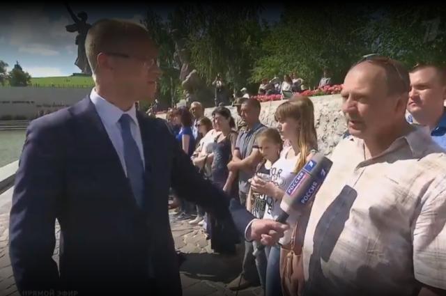 Владимир Путин поздравил сприсягой новобранцев изВолгограда