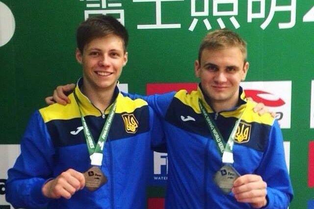 Прыгуны вводу Горшковозов иДолгов заовевали для Украины «золото» чемпионата Европы