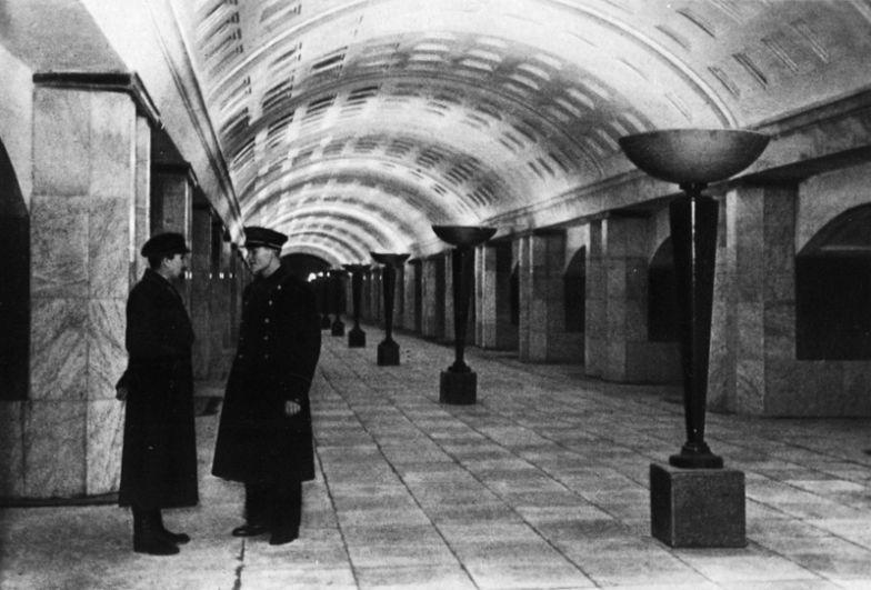 Станция метро «Охотный ряд».