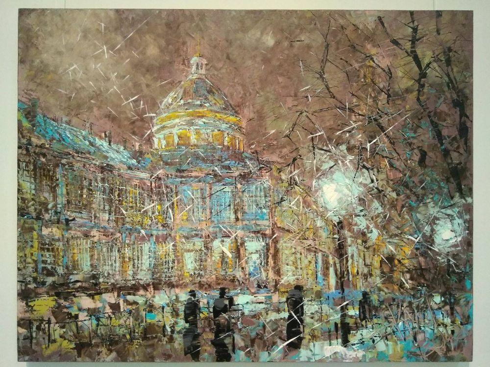 Северная столица – предмет вдохновения и неисчерпаемая творческая кладовая художника.