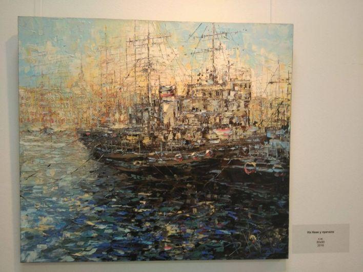 На выставке представлены как известные полотна, так и новые произведения автора.