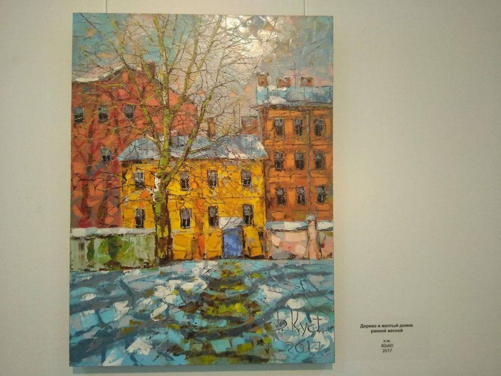 В работах Дмитрия Кустановича лейтмотивом является Санкт-Петербург, и это не случайно.