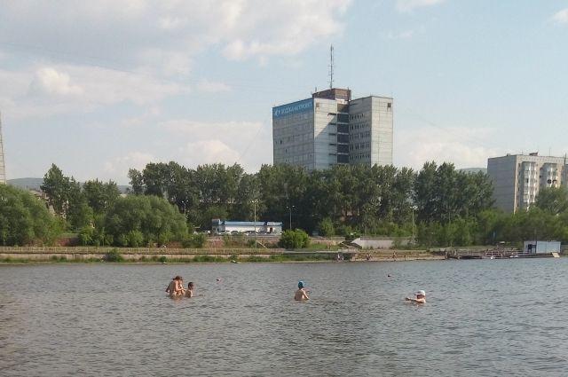 ВКрасноярске нет мест для купания— Роспотребнадзор