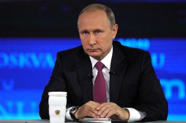 Глава государства ответил только на один вопрос от жителей Красноярского края.