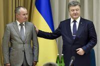 Василий Грицак и Петр Порошенко.
