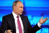 Владимир Путин отвечал на вопросы россиян 15 июня.