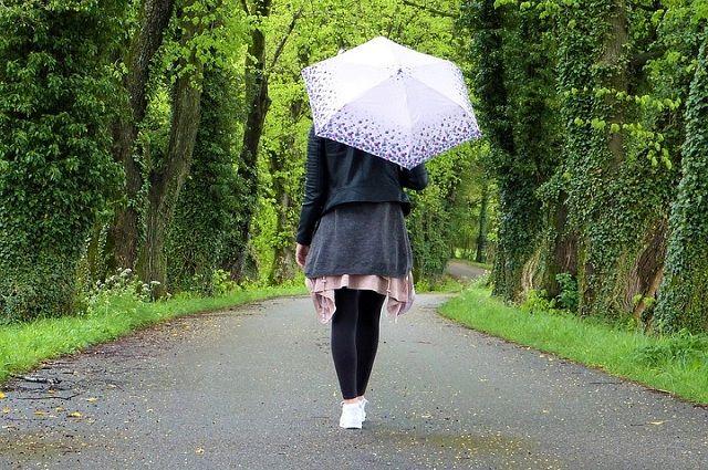 Суббота будет дождливой.