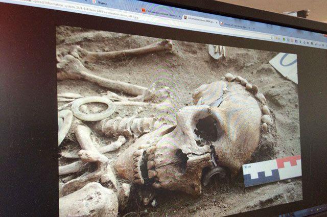 ВПензе вколлекторе отыскали скелет неизвестного мужчины