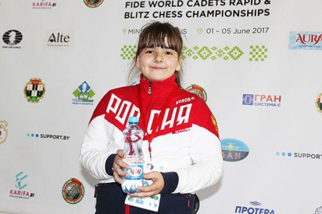 Вероника Шубенкова оказалась, бесспорно, сильнее сверстников.