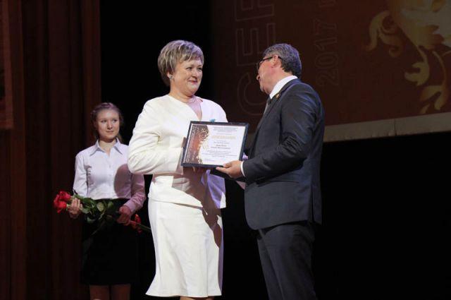 Ольга Демидова получила премию в номинации «За спасение жизни»