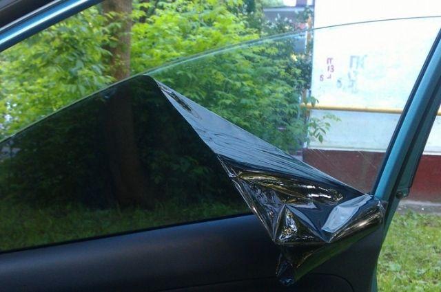 В Салехарде более 40 водителей получили требование убрать тонировку стёкол