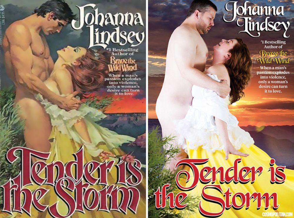 Обложку романа «Буря страсти» могли бы украсить простой мужчина и женщина