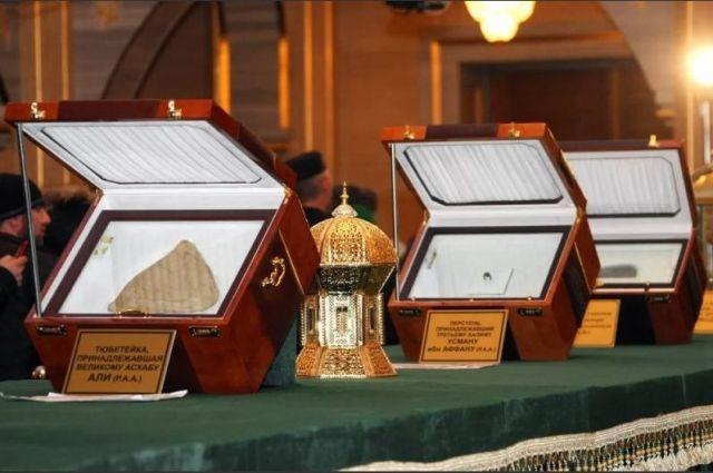 ВЛакском районе откроется выставка реликвий пророка Мухаммада