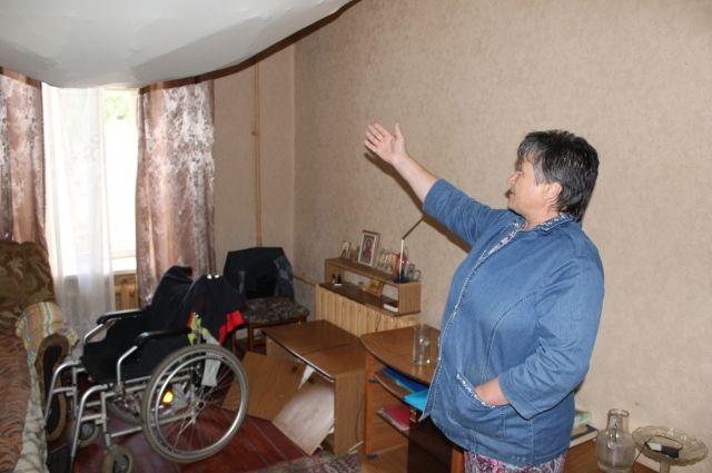 ВВоронеже вкомнате общежития жилого дома обвалился потолок
