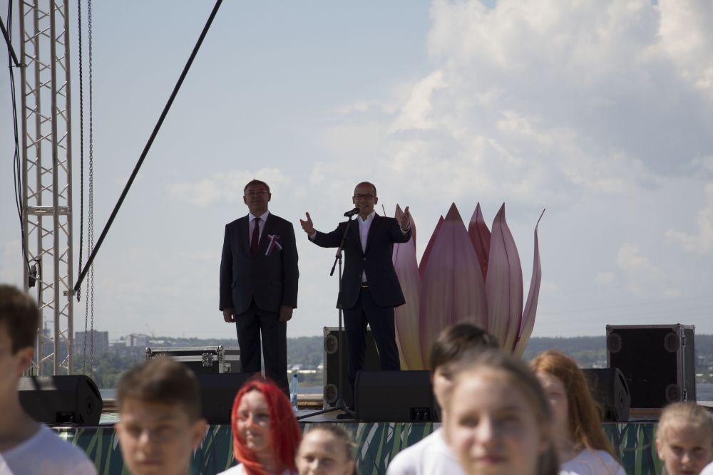 Юрий Тюрин, глава Ижевска, и Александр Бречалов, врио главы Удмуртии.