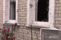 Частный дом в посёлке Октябрьский.