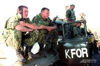 Российские десантники в Косове, 1999 г.