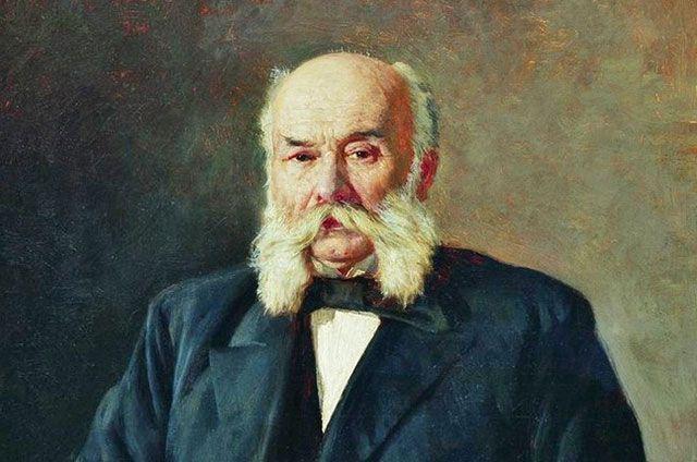 Портрет Ивана Гончарова. Художник Николай Ярошенко.