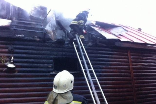 ВТуле сгорела дача, имеется пострадавший