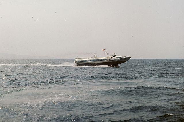 В РФ возобновили производство судов наподводных крыльях «Комета»