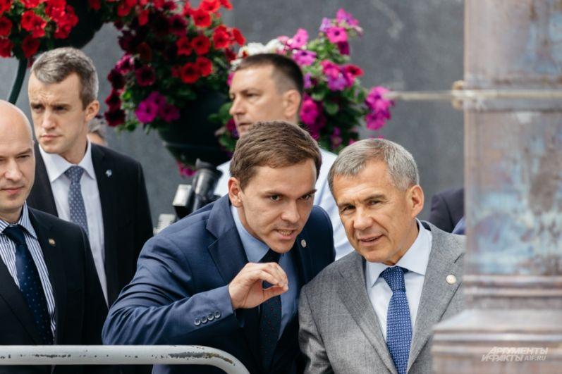 Мероприятие посетил и президент Татарстана Рустам Минниханов.