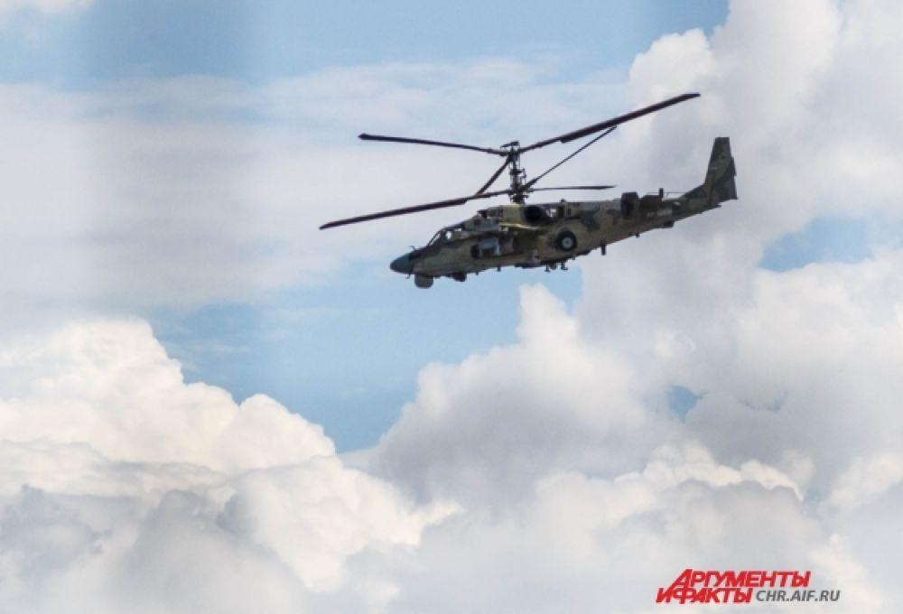 Ми-26 - один из крупнейших в мире военных транспортных вертолетов