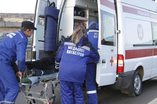 Вцентре столицы  4  человека пострадали вДТП стремя автомобилями