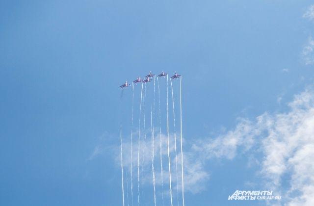 ВВоронеже 24июня пройдёт авиашоу над Адмиралтейской площадью