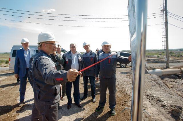 Виктор Толоконский отметил уникальность и технологичность нового производственного объекта.