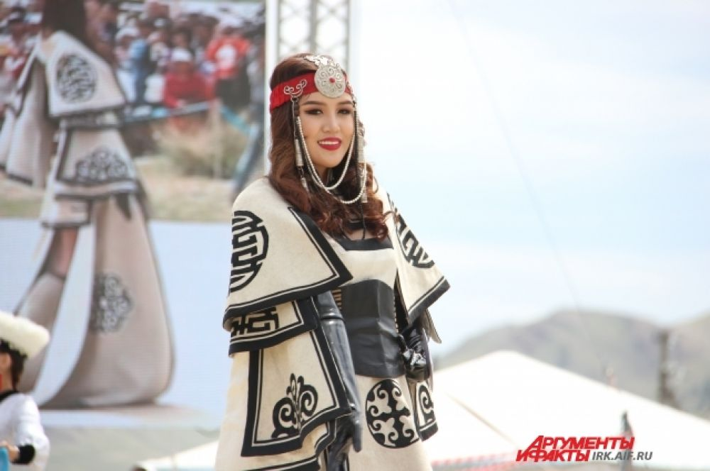 Красавица из Монголии.
