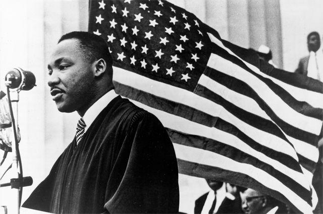Мартин Лютер Кинг.