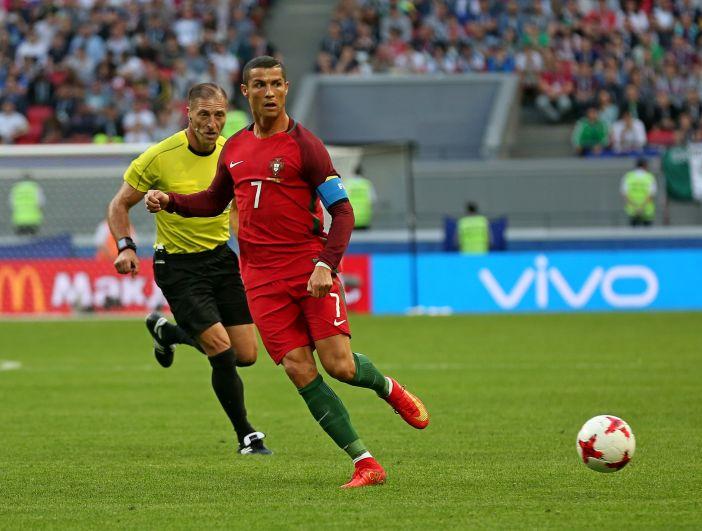 Каждое движение Роналду на поле вызывало овации болельщиков.