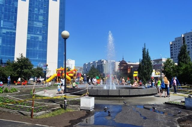 Сквер на пр. Красноармейском