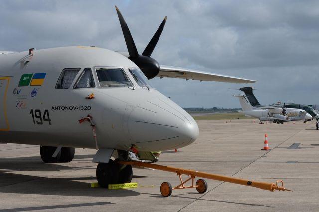 Украина презентовала 1-ый самолет без русских комплектующих