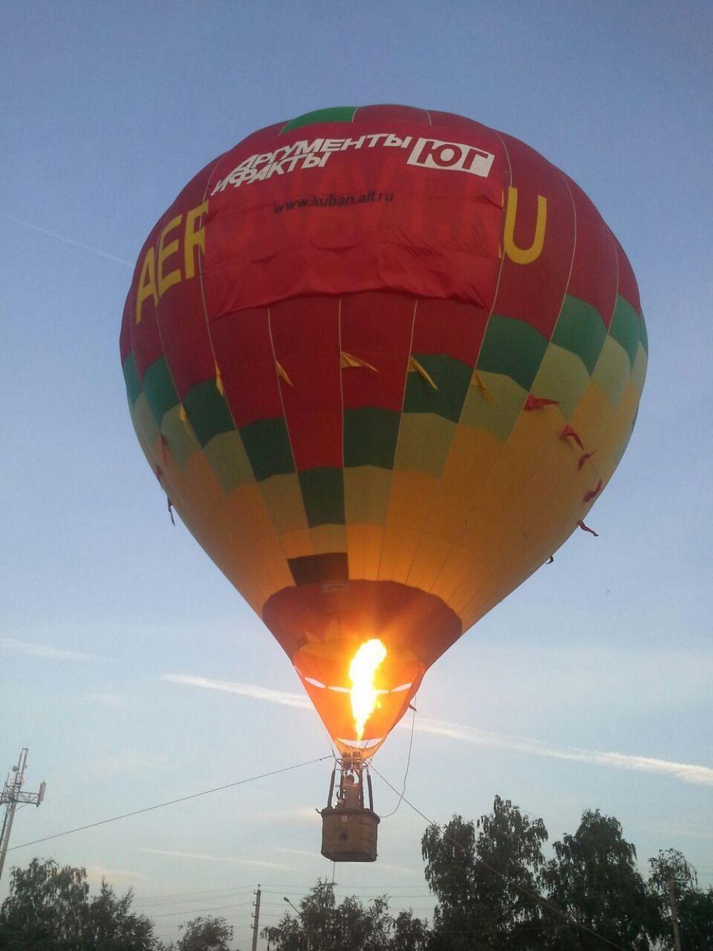Участие в Kuban AirShow 2017 приняла и Региональная федерация спортивного воздухоплавания Краснодарского края. Запуск воздушных шаров проходил на закате.