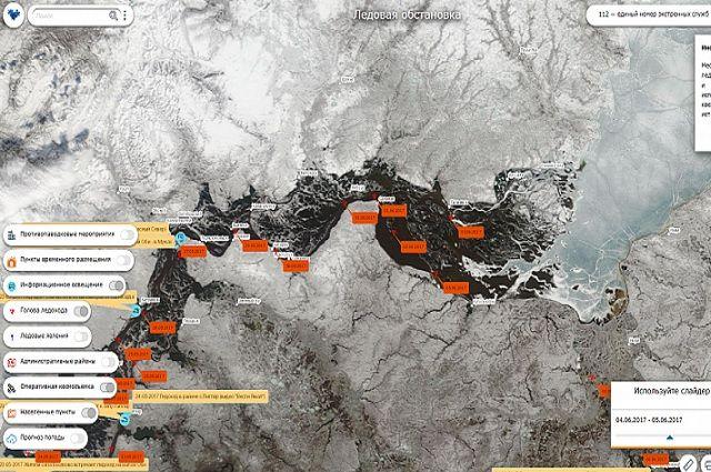 Раздел Единой картографической системы Ямала посетили 33 тысячи раз