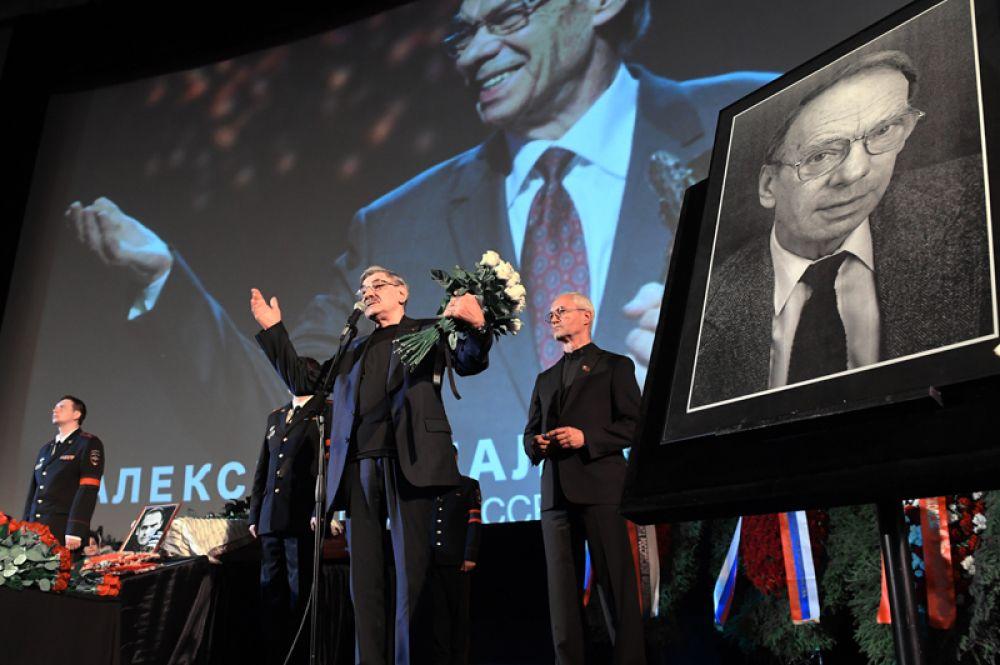 Актёр Александр Панкратов-Чёрный.