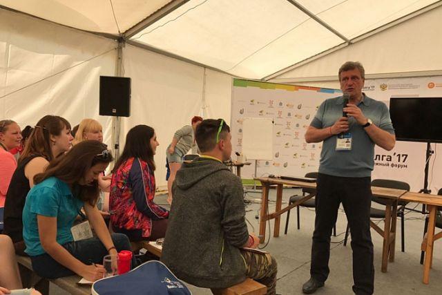 Игорь Васильев выступил наМолодёжном консилиуме «iВолга»
