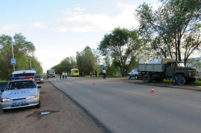 В Оренбурге водитель Toyota сбил 10-летнюю школьницу